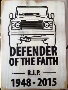 Land Rover Defender; the end of a brilliant era ...
