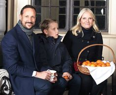 Crown Prince Haakon, Prince Sverre Magnus, Crown Princess Mette-Marit