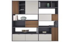 Wall systems - Copenhagen wall system - Gray - Lacquered