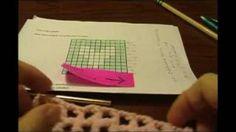 filet crochet tutorial - YouTube