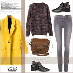 YOINS IV/24 by amra-mak on Polyvore featuring polyvore, fashion, style, Paige Denim, Michael Kors, Balmain and yoins