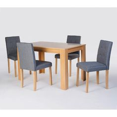 All Home Norwich Dining Table and 4 Chairs