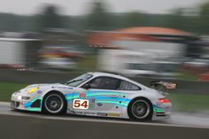 Tim Pappas (USA) / Terry Borcheller (USA), Team Trans Sport Racing Porsche 911 GT3 RSR, Generac 500, ALMS Road America, Elkhart Lake WI. 11 AUG 2007 (Photo by Ken Novak)