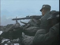 German soldiers during the battle of Narvik, Norwegian Campaign.