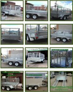 10 × 6 Heavy Duty Tandem axle Trailer Galvanised Checker Plate 400mm sides. Floor is made from sheets of seam welded 2.5mm checker plate welded to chassis every 80-100mm and has been folded to make 400mm sides . U Beaut Trailers is a registered online dealer. Registration can be offered to Victorian licence holders for $ 130. For more information visit at http://ubeauttrailers.com.au/product/tandem-heavy-duty-15 and contact us 03-9708 2691, Mobile: 0417 057 129 U Beaut Trailers, 13…