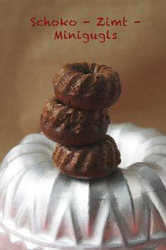 Schoko-Zimt-Minigugls Mini Donuts, Mini Muffins, Cupcakes, Cupcake Cakes, Bakery Muffins, Food Crush, Seasonal Food, Special Recipes, Mini Cakes