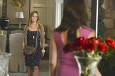 Still of Jennifer Jason Leigh and Madeleine Stowe in Revenge Revenge Season 2, Revenge Tv, Madeleine Stowe, Veronica Mars, Episode 5, Picture Photo, Forgiveness, Sequin Skirt, Backdrop Background