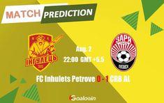 FC Inhulets Petrove vs CRB AL