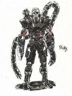 Solidus sketch I did Metal Gear Games, Metal Gear Solid Series, Mgs V, Cyberpunk, Gears, Cool Art, Video Games, Sci Fi, Gaming
