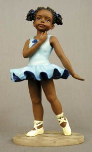 Shop and add to your collection ballerina figurines for children. This ballerina girl is standing dressed in blue. African American Figurines, African American Art, Black Figurines, Art Books For Kids, Black Dancers, Ballerina Figurines, Different Shades Of Black, African Love, Black Ballerina