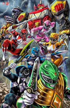 Power Rangers 2017 by TyrineCarver on DeviantArtYou can find Power rangers and more on our website.Power Rangers 2017 by TyrineCarver on DeviantArt Power Rangers Tattoo, Power Rangers Fan Art, Power Rangers Comic, Power Rangers 2017, Power Rangers Megazord, Power Rangers Dino, Mighty Morphin Power Rangers, Otaku Anime, Gi Joe