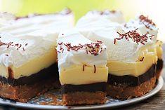 Fenomenální nepečený čokoládový dort  240 ml voda 100 g kr. cukr 1 vanil cukr 400 g suš mléko 250 g máslo 100 g másl sušenky 100 g ml vlaš ořechy 6 PL mléko 100 g tm čokoláda 100 g bílá čokoláda 200 ml smetana ke šleh 1 ztužovač Vodu a cukre do hrnce, ohřejeme, rozpustíme, odstavíme a za míchání suš mlékol vychladnout, přidáme máslo,  vyšleháme Oddělíme 200 g a přidáme k rozdrc sušenkám, s  ořechy a mlékem, navrstvíme na dno formy, do chladu Připravíme nádivky.Zbylý krém rozdělíme