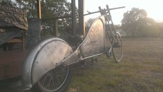 Old school chopper bicycle ratrod style
