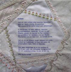 I ❤ crazy quilting & embroidery . . .  CQJP2013, Wilma Van W., Netherlands