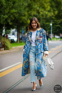 Milan SS 2017 Street Style: Patricia Manfield