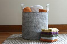 Fabric Bucket: Zakka