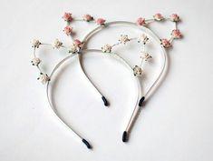 Kitty-ear, flower headband