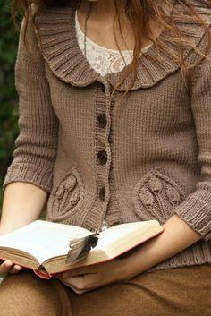 Knitting, crochet, cardigan styles - Örgü hırka modelleri 3