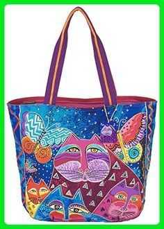 Laurel Burch Cats with Butterflies Tote (Multi) - Totes (*Amazon Partner-Link)