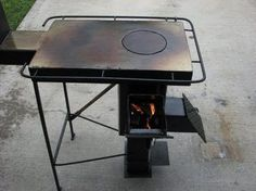 A Rugged Multi-Fuel, Multi-Use Rocket stove - YouTube