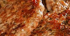 This is the BEST recipe for sausage patties I've tried. Very, very yummy. Sausage Meat Recipes, Homemade Sausage Recipes, Pork Recipes, Cooking Recipes, Healthy Recipes, Yummy Recipes, Whole 30 Breakfast, Breakfast Time, Breakfast Recipes
