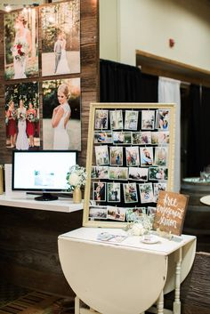 My wedding showcase booth! www.ashleycookphotography.com