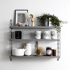 "195 gilla-markeringar, 1 kommentarer - Mitt Hjem AS (@mitthjemas) på Instagram: ""We ❤️ String Pocket Shelf, Don't We? @stringfurniture #string #pocket #shelf #design #decor…"""