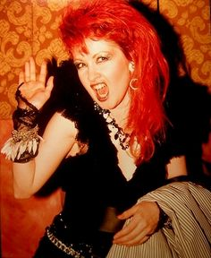 See Cyndi Lauper pictures, photo shoots, and listen online to the latest music. Cindy Lauper 80s, Cyndi Lauper, 80s Trends, Bright Red Hair, Women Of Rock, Beauty Inside, Post Punk, Facon, American Singers