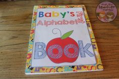 Diy alphabet book baby shower activity game baby book do it instead of a game everyone decorates a page or two for a babys alphabet book solutioingenieria Images