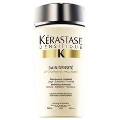 hairbodyproducts.com FREE DELIVERY BEST PRICES ONLINE KÉRASTASE DENSIFIQUE SHAMPOO, BAIN DENSITÉ, HAIR LACKING DENSITY