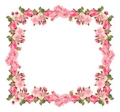 Flower frame by collect-and-creat.deviantart.com on @deviantART ...