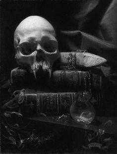 vampire art work , love , this girl has teeth gothic art gift Skull with fangs Vampire Skull, Vampire Art, Vampire Fangs, Vampire Books, Dark Gothic, Gothic Art, Gothic Books, Vampire Love, Vampire Pics