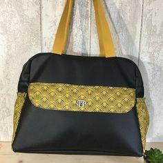 L'Atelier de la Bretonne sur Instagram: Un grand sac pour ... la couture. Joanna m'a demandé de réfléchir à un sac pour ranger du matériel couture. Autre critère : du moutarde.…