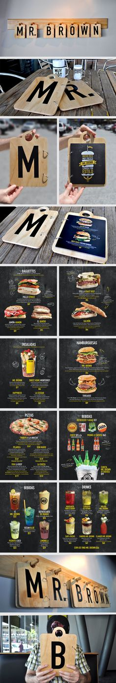 Ideas and inspiration for ca… Infographic Description Food infographic Food infographic Menu Mr Brown. Ideas and inspiration for cafes restaurants – Infographic Source – - Menu Restaurant, Restaurant Design, Cafe Design, Food Design, Web Design, Design Ideas, Corporate Design, Corporate Identity, Cafe Bar