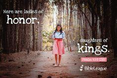 Psalm 45:9 ERV