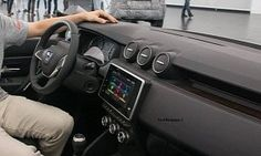 2018 Dacia Duster Interior Leaked Ahead of Frankfurt Motor Show :  The  all-new Dacia Duster  has chunky off-roader looks as shown in most of the exterior shots that were revealed last week. However customers will be spending 99% of their time inside the car which has only partially been detailed in some sketches.   12 photos  But a few photos have leaked out from a journalist event held behind closed doors. They suggest the 2018 Duster's cabin is a mix of familiar elements and brand new…