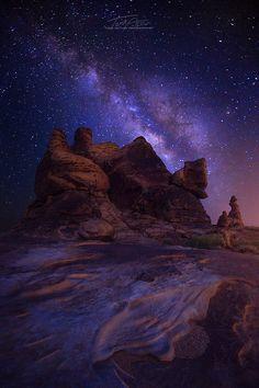 etherealvistas: Milky Way (Saudi Arabia) by tarikalturki || Facebook