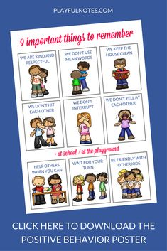 Encouraging positive behavior in a gentle way is not an easy job! But some helpful tips and a cute Positive Behavior Poster really made a difference for us! Positive Behavior Chart, Home Behavior Charts, Classroom Behavior Chart, Behavior Cards, Positive Behavior Management, Behavior Chart Toddler, Behavior Quotes, Behavior Plans, Behaviour Chart