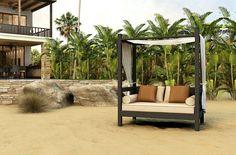 Hoy les mostraremos cncuenta fantásticos ejemplos de camas de jardín adecuadas para todos los bolsillos, permítase el lujo de las siestas al aire libre.