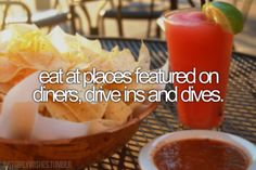 ✔ Bucket list- eat at places featured on diners, drive ins, and dives. CHECK! (Athens-Nashville)