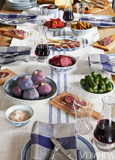 Entertaining An Elegant Lunch - Todd Antony Home