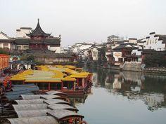 Nanjing Fuzimiao, China. I want to go back
