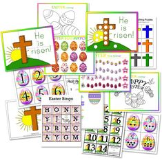 Free Easter preschool printable pack!