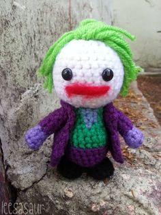 superhero knitting on Pinterest Amigurumi, Amigurumi ...