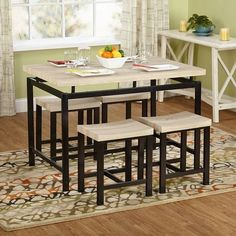 Found It At Wayfair   Space Saver 5 Piece Dining Set | Kitchen | Pinterest  | Space Saver, Front Rooms And Spaces