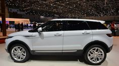 2016 Land Rover Evoque (White) Range Rover Evoque, Range Rovers, My Dream Car, Dream Cars, Mechanical Horse, White Clouds, Expensive Cars, Car Pictures, Black Stripes