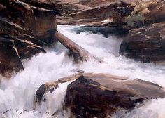 """Rush Creek"" 14""x20"" Oil Painting by artist Jeremy Lipking"