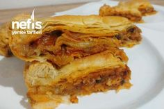 Savory Pastry, Spring Rolls, Kitchen Art, Apple Pie, Blueberry, Yummy Food, Delicious Recipes, Food And Drink, Meals