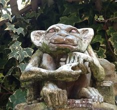 For some gargoyles inspire a sense of the creepies, but for others, they are useful omens indeed.