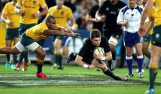 Beauden Barrett has started both wins over Australia in the Rugby Championship